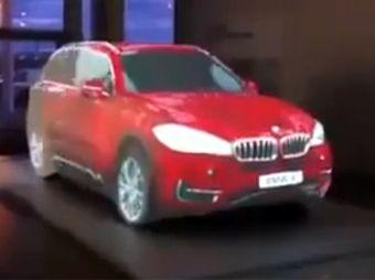 Increíble presentación de un nuevo automóvil
