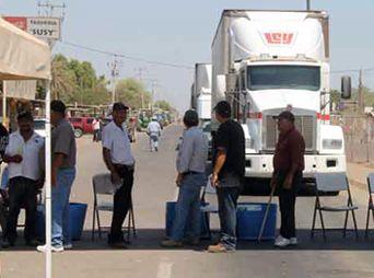 Reiniciarán Yaquis bloqueo carretero en Vícam