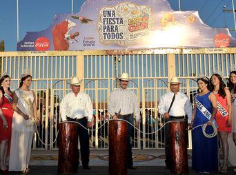 Inauguran la Expo-Gan 2014