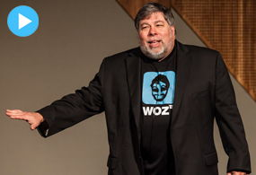 Sigue AQUÍ la conferencia EN VIVO de Steve Wozniak en Hermosillo