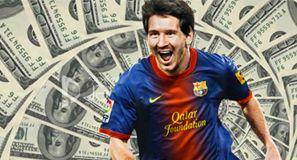 ¿Cuánto ganará Messi al año, al mes, a la semana, al día?