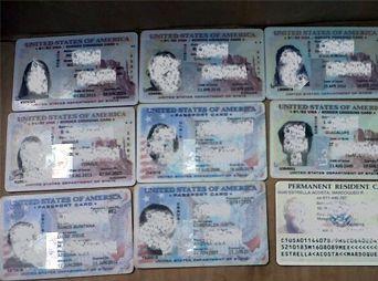 Detienen en Nogales a hombre armado y con 11 visas láser