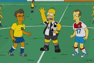 Homero Simpson será árbitro de la final del mundial