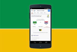 Google te dará la información del Mundial al momento