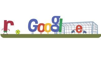 Ronaldo hace 'huir' al doodle de Google