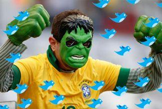 Brasil y Alemania también hicieron historia en internet