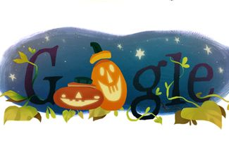 Google celebra halloween con Doodle