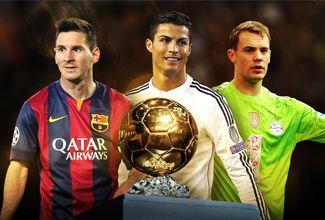 ¿Quienes son los finalistas al Balón de Oro 2014?