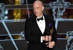 J.K. Simmons ganó el Oscar en la categoría Mejor Actor de Reparto