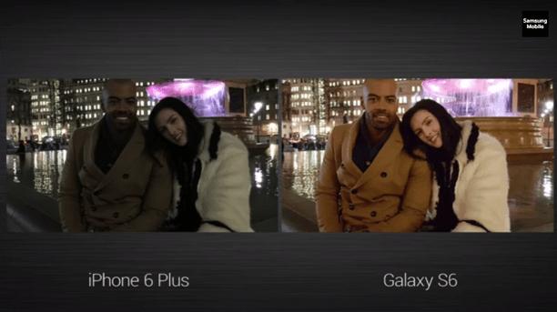 Cámara del Samsung Galaxy S6 vs iPhone 6 Plus