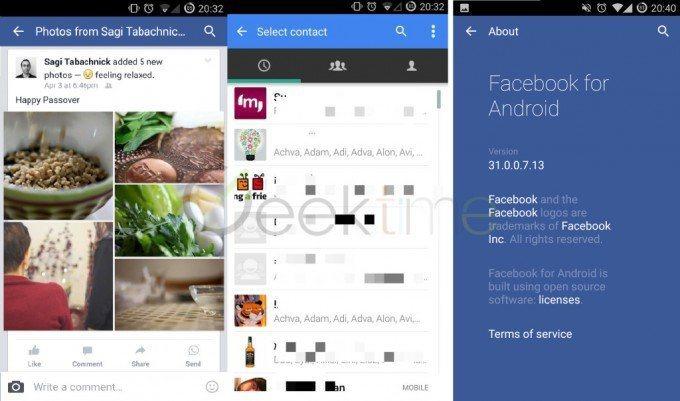 Pronto podrás compartir publicaciones de Facebook en WhatsApp