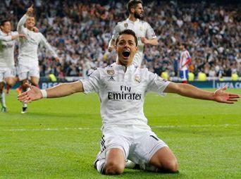 El gol del Chicharito que dio el triunfo al Real Madrid