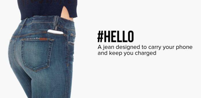 Los jeans ideales para tu celular (y su cargador)