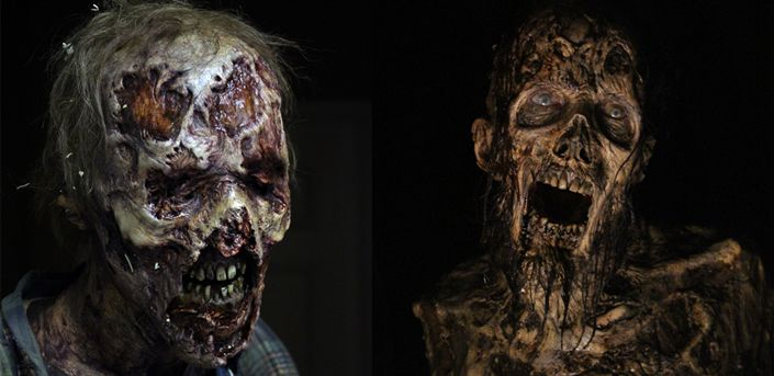 Los nuevos zombies de The Walking Dead