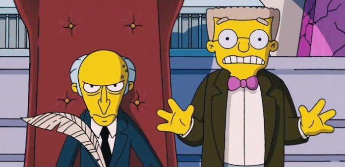 En Los Simpsons, Smithers se declarará gay