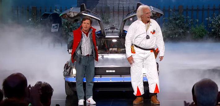 Marty y Doc si llegaron al futuro, aquí te mostramos