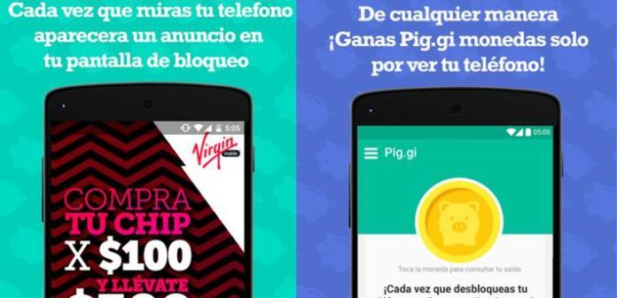 Pig.gi: La app que te paga por ver publicidad