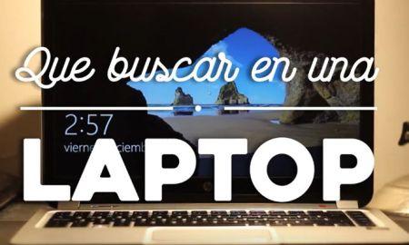 Consejos para comprar una laptop