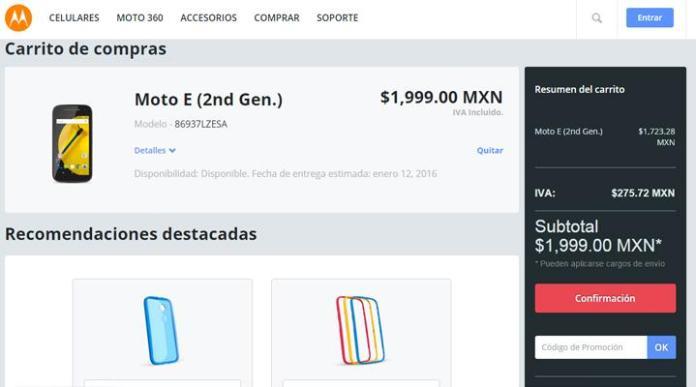 Foto: Cómo Comprar un Motorola E Segunda Generación