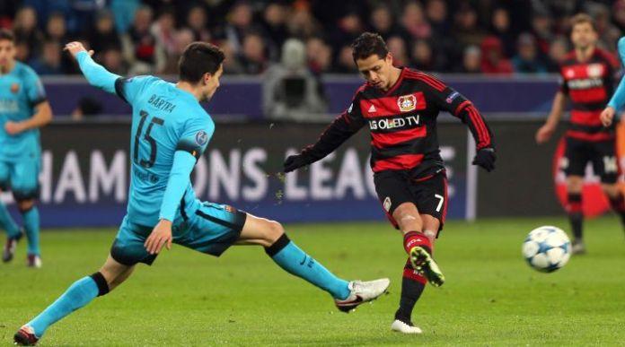 Vídeo: Los 3 goles del Chicharito con el Bayer