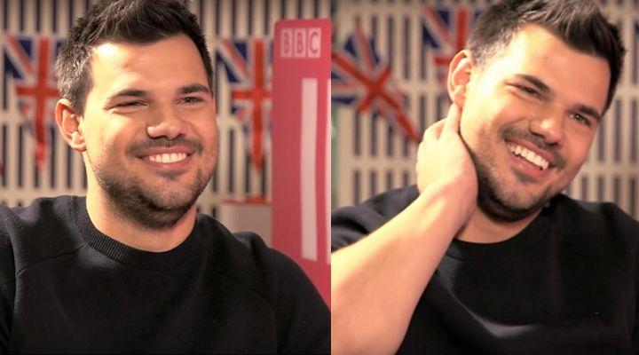 Esta es la nueva imagen de Taylor Lautner