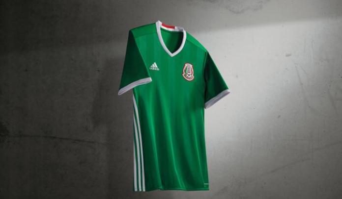 Presentaron el nuevo uniforme de la Selección Mexicana