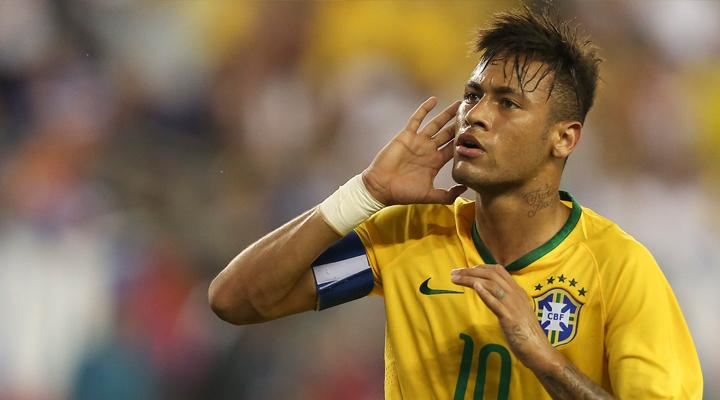 Neymar Selección de Brasil