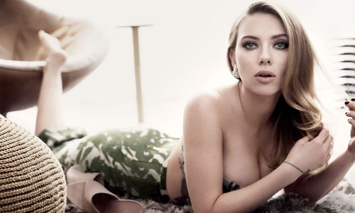 Se filtran nuevas fotografías de Scarlett Johansson al desnudo