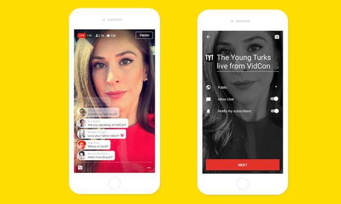 Pronto podrás hacer streaming con Youtube desde tu móvil