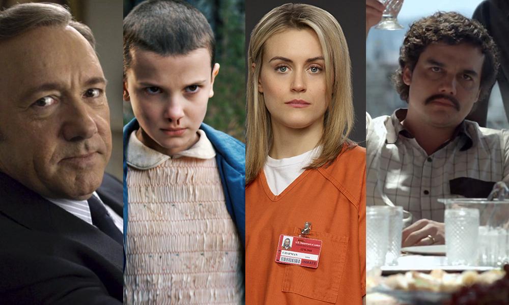 Estas son las series más vistas de Netflix en el 2017