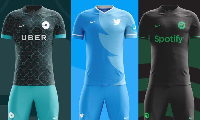 Estos serían los uniformes de los equipos de fútbol de Redes Sociales fa531aae00cf9