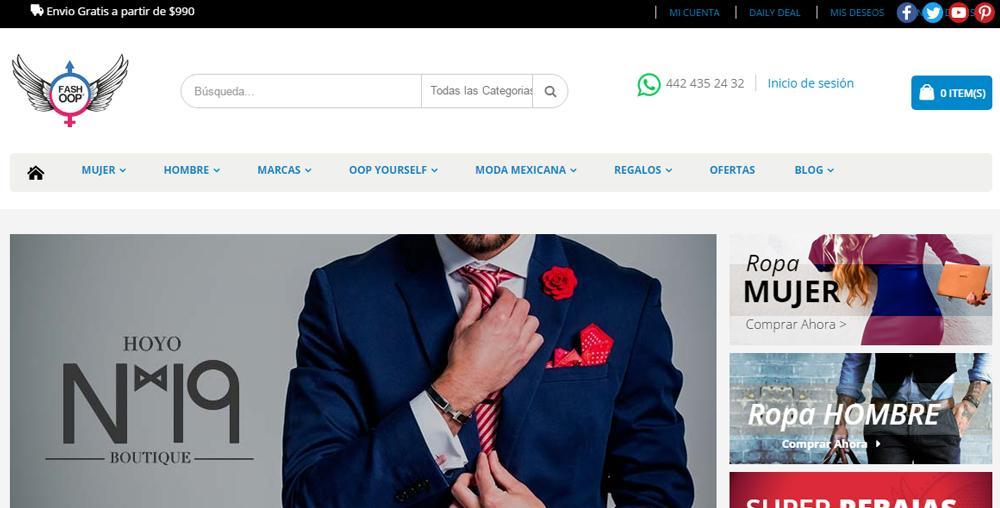 Tiendas de ropa online mexico seguras y baratas