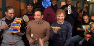 Shape of You de Ed Sheeran con instrumentos de juguete