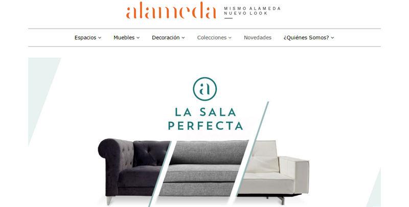 Tienda de muebles online: Alameda