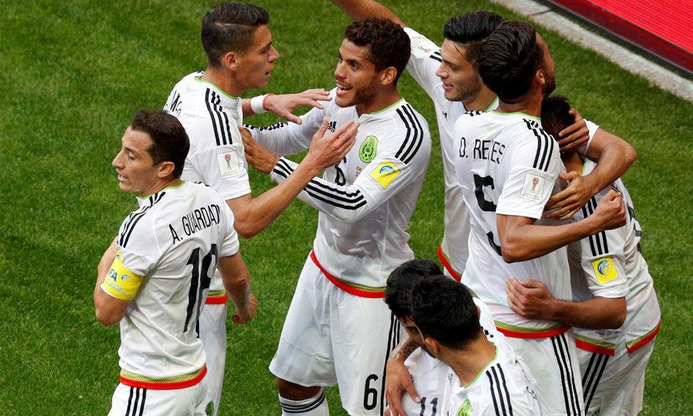 Goles de México vs Portugal Confederaciones 2017
