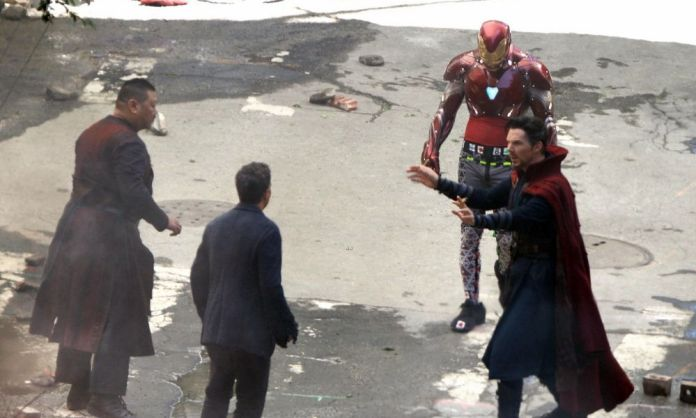 Iron Man en Avengers Infinity War