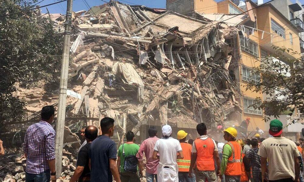 Empresas tecnológicas tras el sismo en México