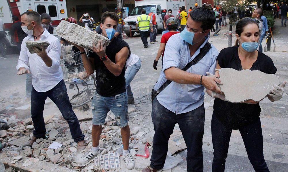 Fotos y vídeos del sismo en Ciudad de México