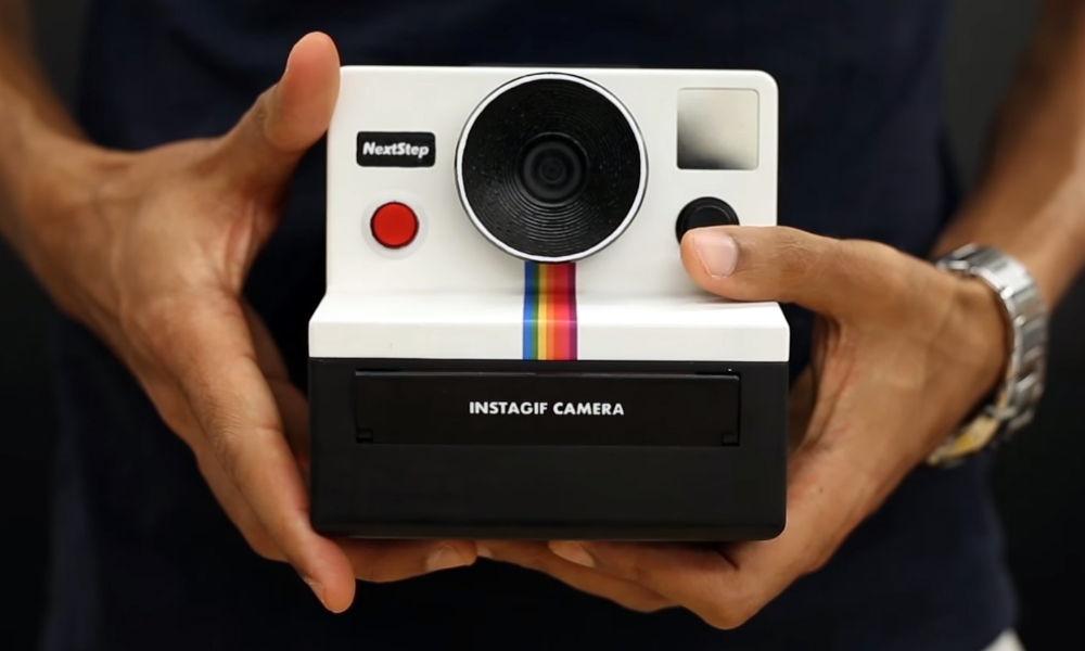 Instagif: La cámara tipo Polaroid que imprime gif
