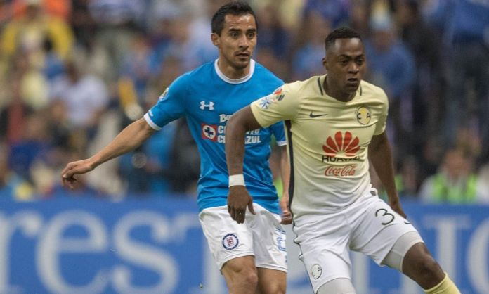 América vs Cruz Azul en vivo 2017