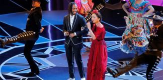 Gael García y Natalia Lafourcade en los Oscar 2018