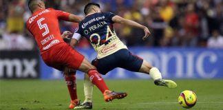 Goles: América vs Toluca jornada 12