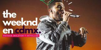 concierto de The Weeknd en México