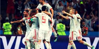 ver en vivo España vs Marruecos