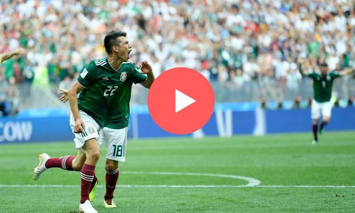 Repetición: México vs Alemania