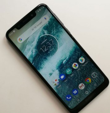 Motorola One ya está recibiendo Android Pie