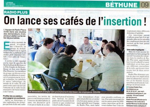 article café insertion septembre 2014