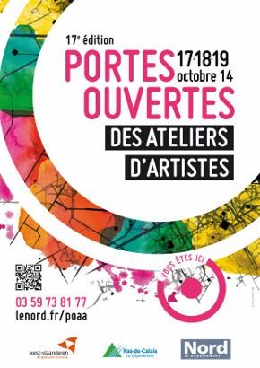 Portes ouvertes des ateliers d'artistes - édition 2014