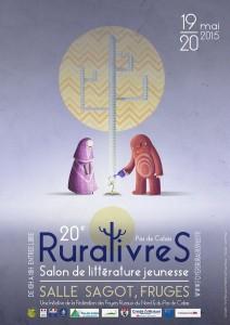 affiche Ruralivres en Pas-de-Calais 2015