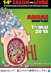 Salon du livre d'expression populaire et de critique sociale - Arras, du 30 avril au 2 mai 2015
